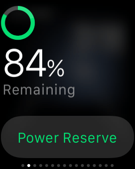 84% remaining (battery)