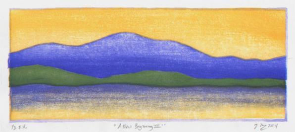 A New Beginning III 1/3 E.V., 2014.