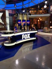 Stopping by for a segment at Fox