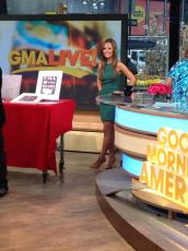 "On set for ""GMA Live!"""