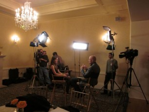 Interviewing the CEO of Levis for CNBC
