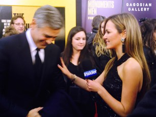 "Interviewing George Clooney for ""The Insider"""