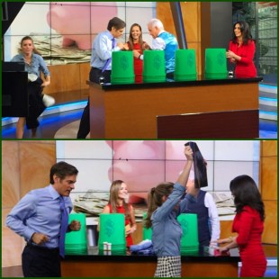 "Playing my favorite game—""The Money Game""—with Dr. Oz on ""Good Day LA"""