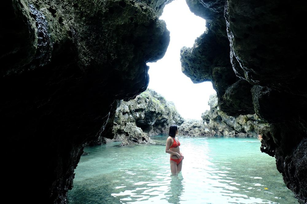 蘭嶼|離島戲水去!東清秘境 神祇賜予蘭嶼的藍色眼睛 - 妮可魯的飛行日記