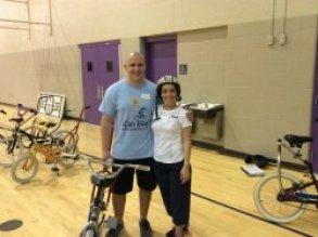 Bike Camp Bravery with Cerebral Palsy