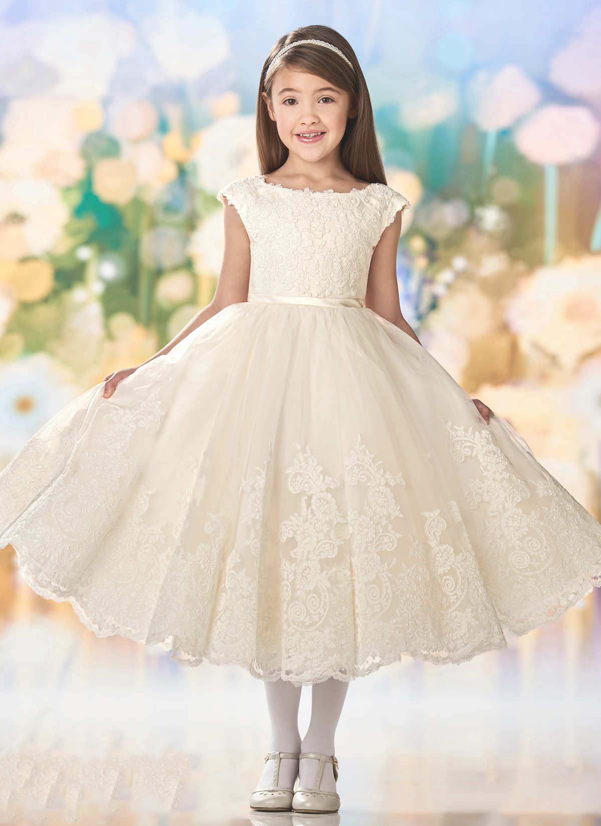 The flower girl dresses that'll make sure your whole wedding party is on point