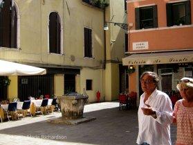 Quiet piazza