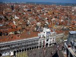 View Piazza San Marco from the top of the Campanile
