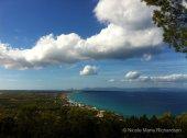 Formentera beach from a distance