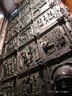 The door of Basilica of San Zeno Maggiore
