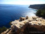 Cliffs in Formentera