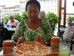 Me and the pizza