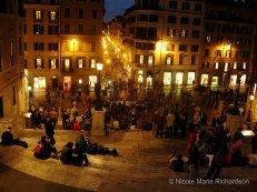 Spanish Steps and Piazza di Spagna