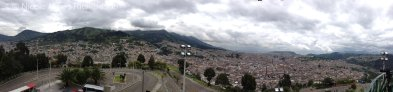 View from Virgen de Quito