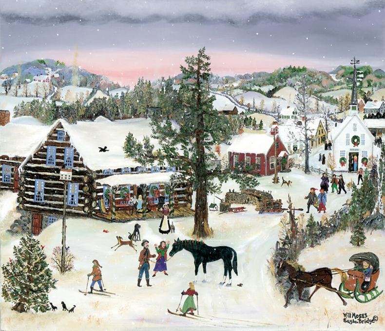the christmas horse, will moses
