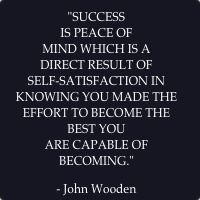John Wooden's Pyramid of Success–It's Not Just for Players