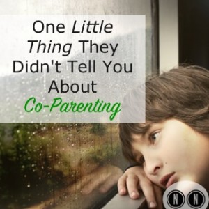 One Little Thing They Didn't Tell You About Co-Parenting