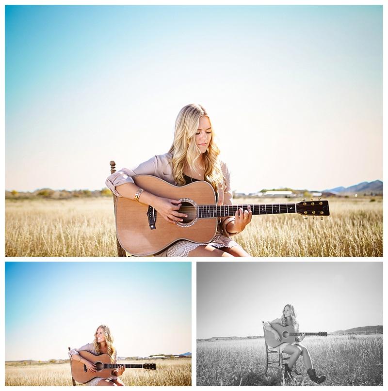 A WordPress Site   Senior Photos + Color. Sunshine & A Guitar