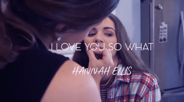 "Makeup Details • Hannah Ellis ""ILY So What"" Music Video"