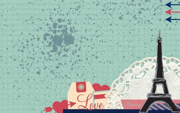 i love paris desktop background Mullen Crafts