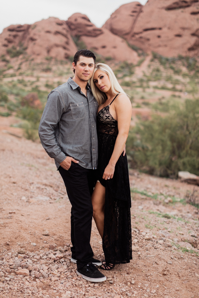 Phoenix Arizona Engagement Photographer  Calgary Wedding