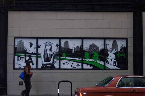5th Street Downtown Los Angeles Art Walk 2012 Nicole Murph