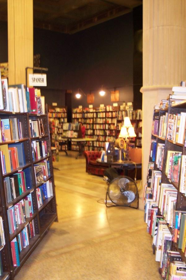 Bookstore Downtown Los Angeles Art Walk 2012 Nicole Murph