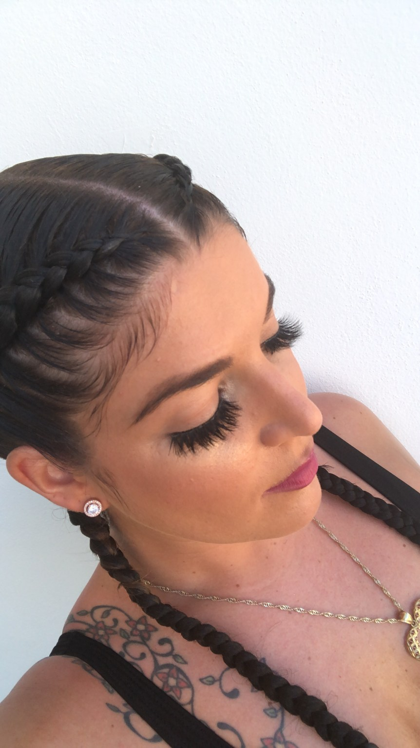 lashes-with-braids