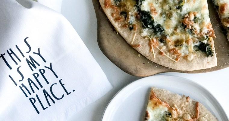 The Super Green Pizza