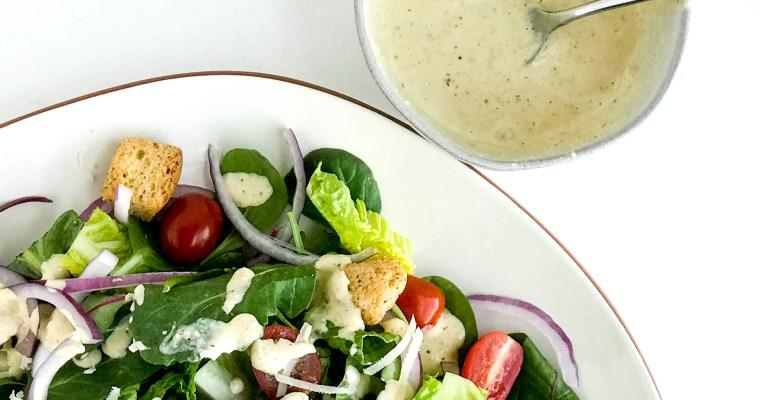 Homemade Caesar Salad Dressing