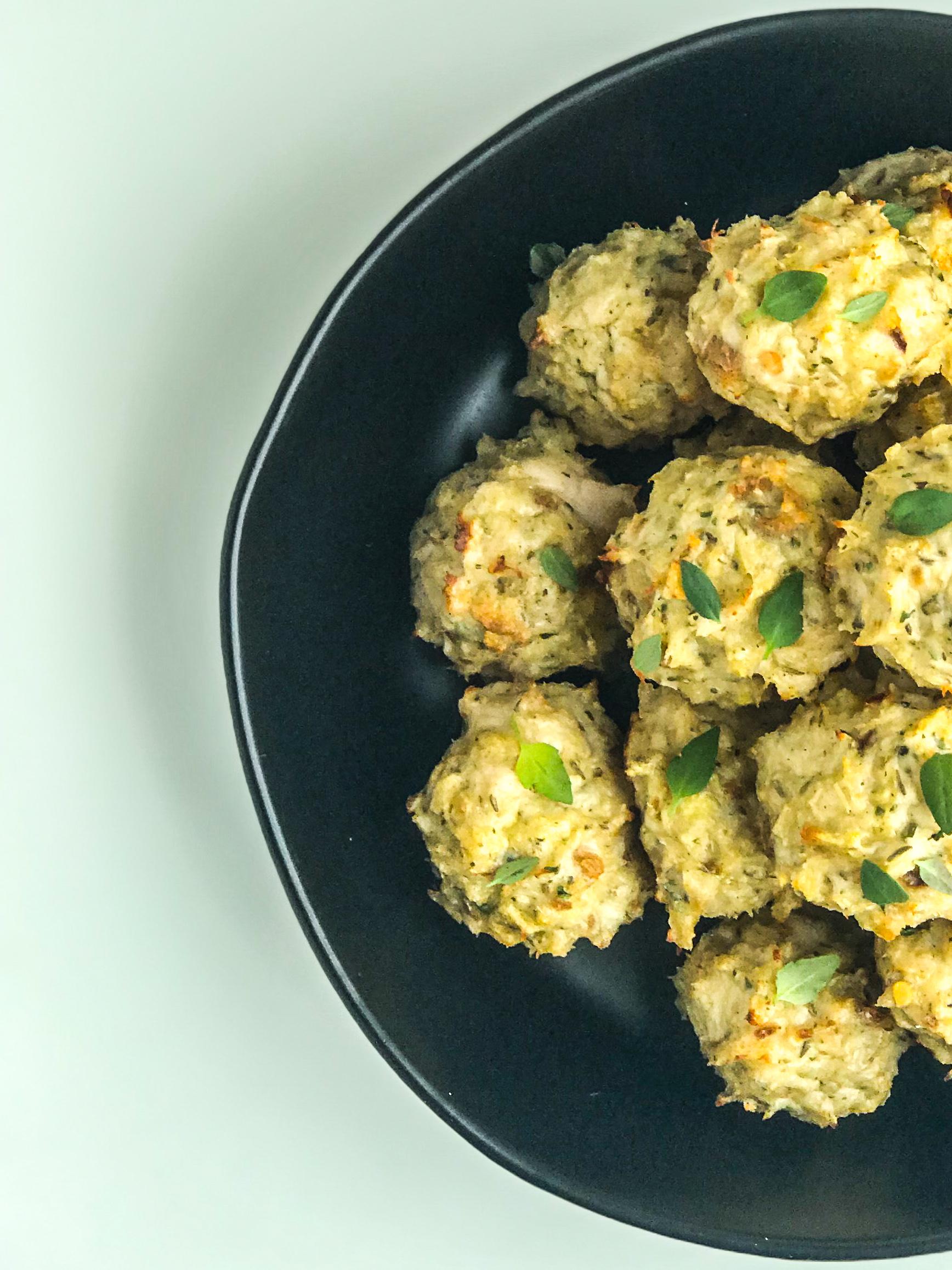 Easy Weeknight Chicken Meatballs