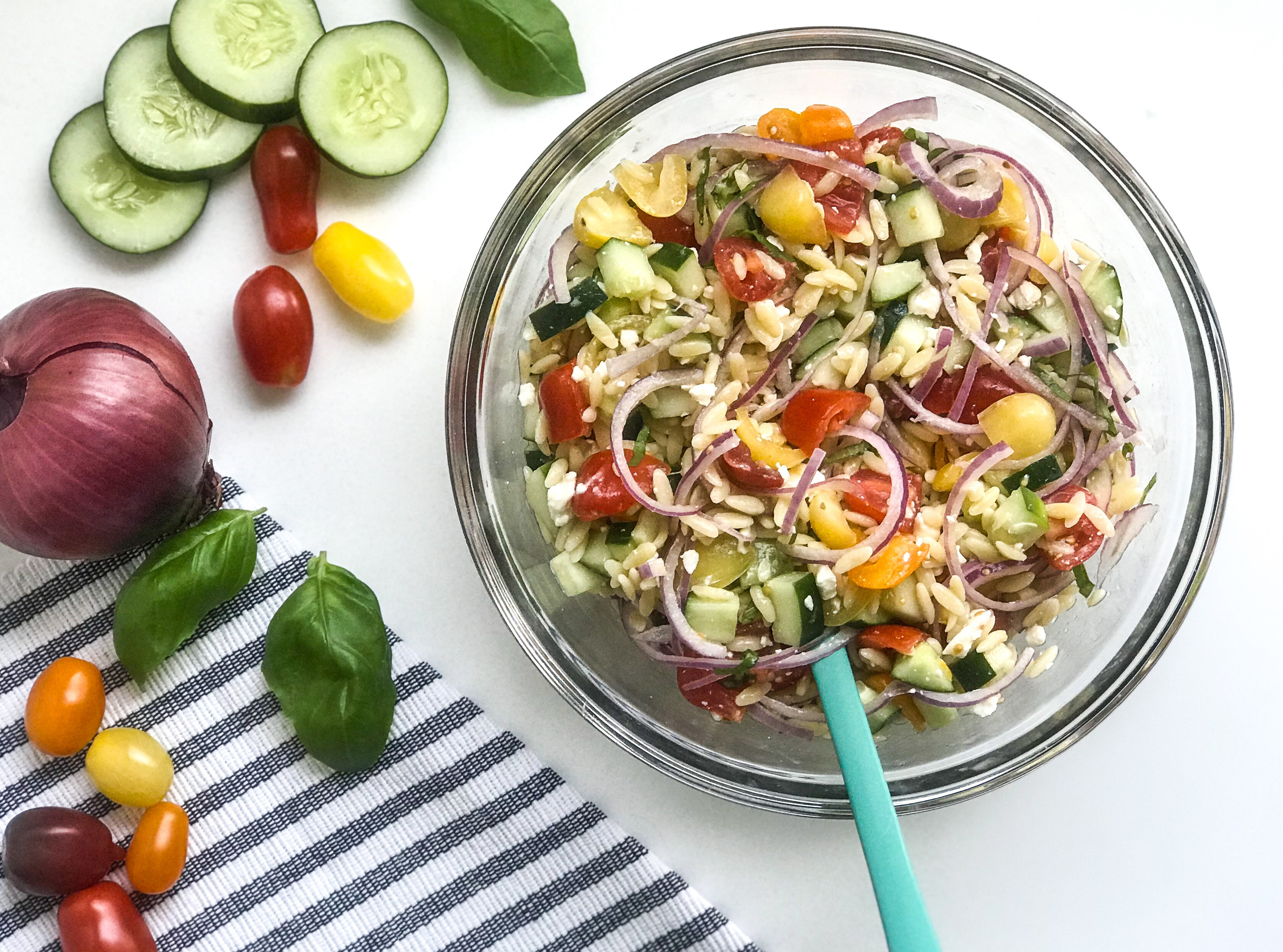 Easy Summer Cucumber and Tomato Salad