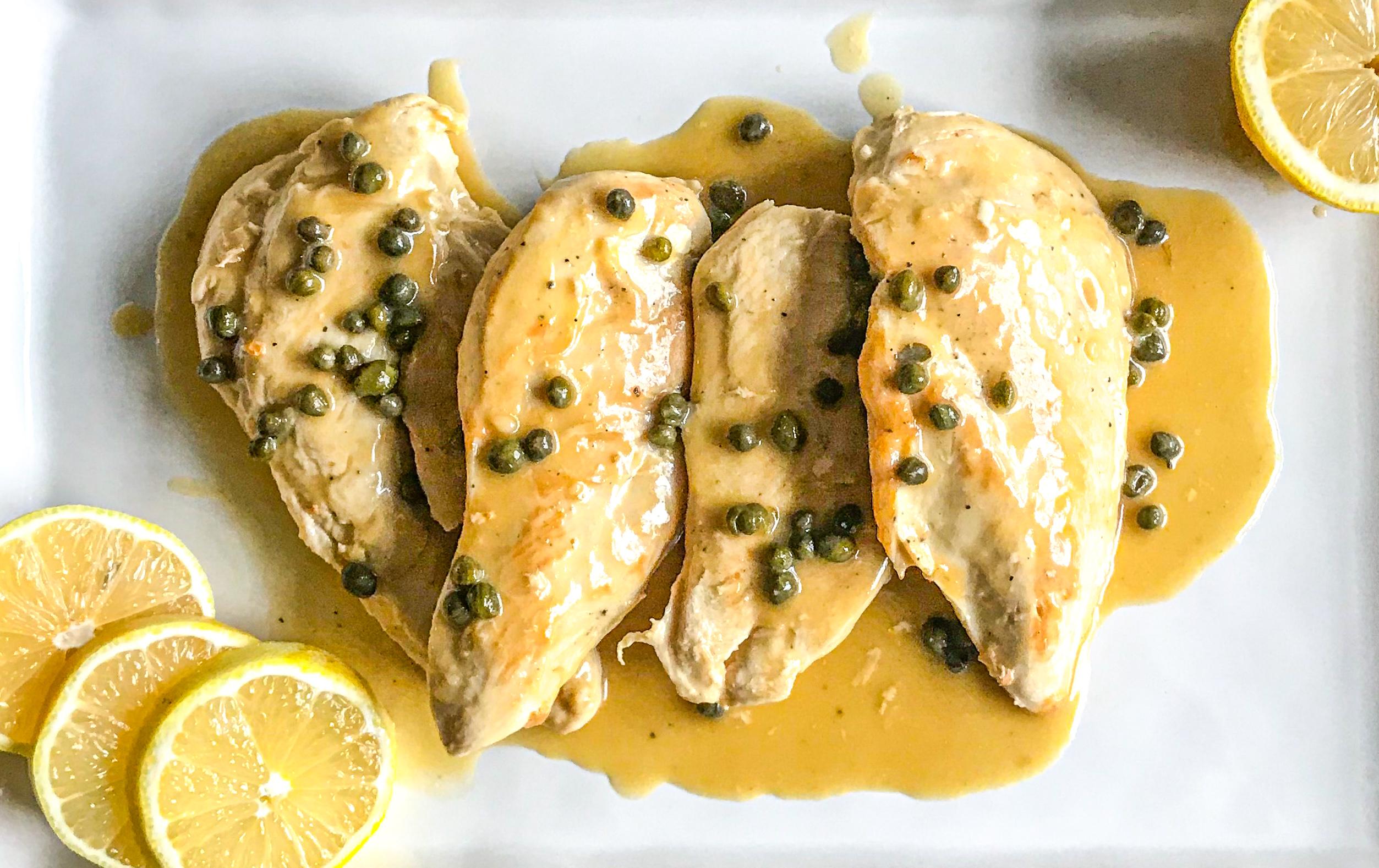 Simple Chicken Piccata