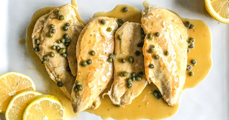 Simple Chicken Piccata