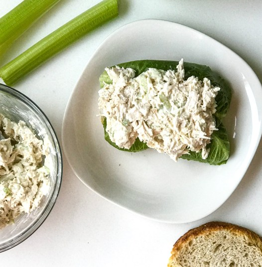 Quick Leftover Chicken Salad