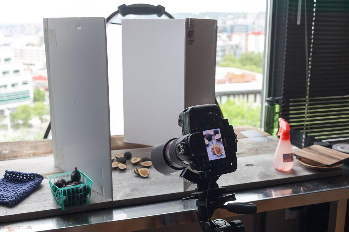 Food Photography: Foam Board