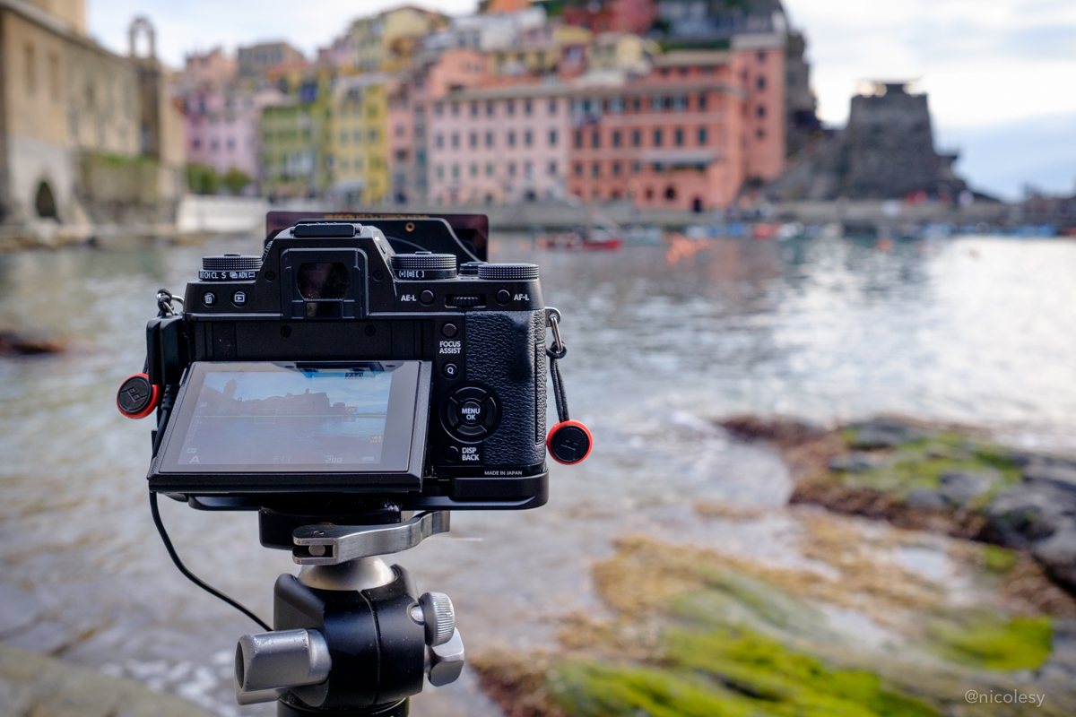 Fujifilm X-T1 behind the scenes in Italy