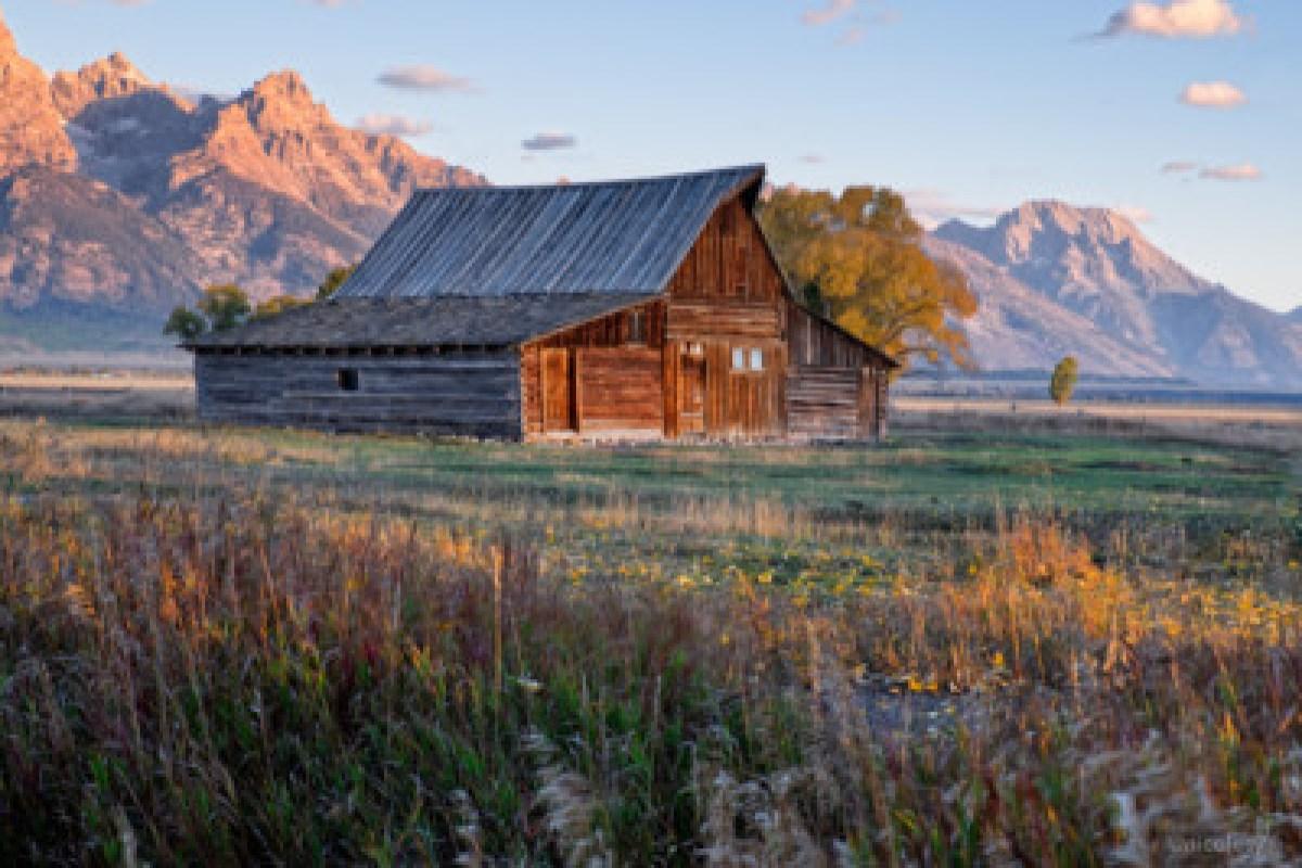 Grand Teton National Park at Sunrise