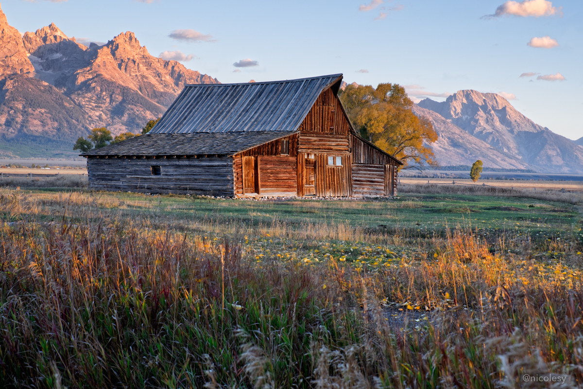 Grand Teton National Park at Sunrise
