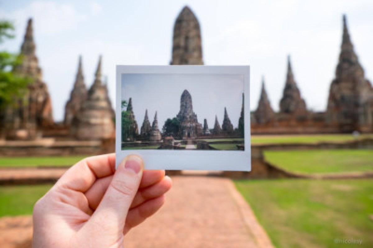 Thai Temple (FUJIFILM Instax Wide Print)