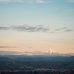 Mount Hood from Portland, Oregon