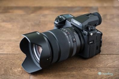 Fujifilm GFX 50S with the GF32-64mmF4 R LM WR lens