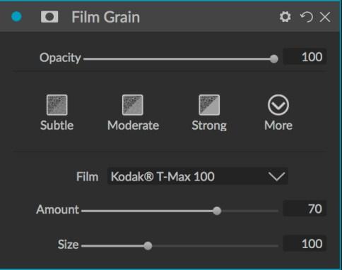 Film Grain filter