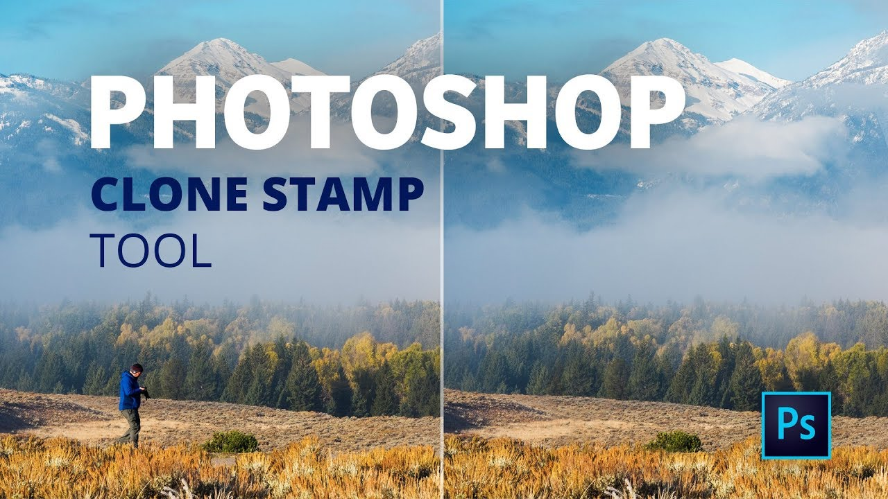 Remove People From Landscapes With The Clone Stamp Tool