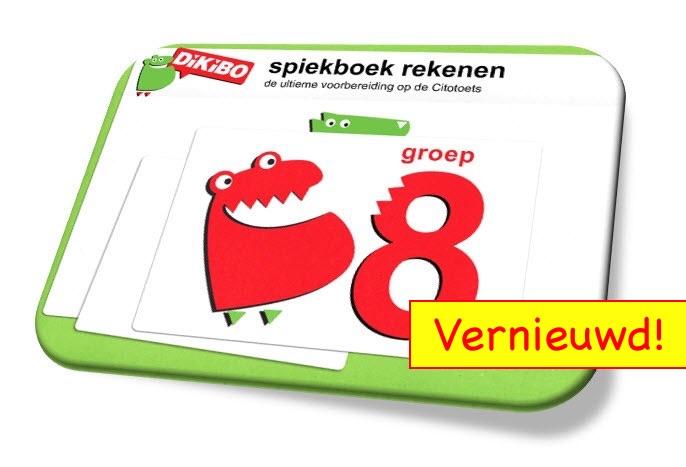 Spiekboek rekenen groep 8