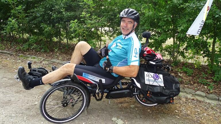 Rondje Europa fietsen na diagnose parkinson!