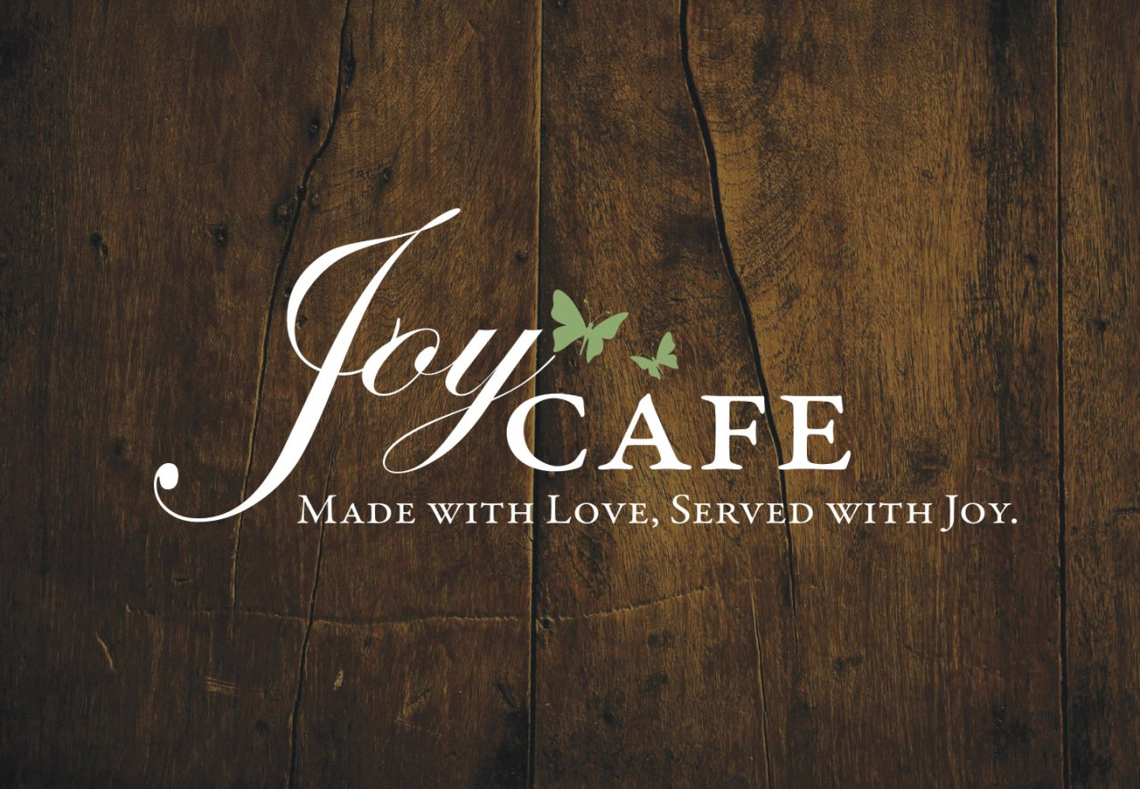 Joy Cafe Logo | Nicole Victory Design