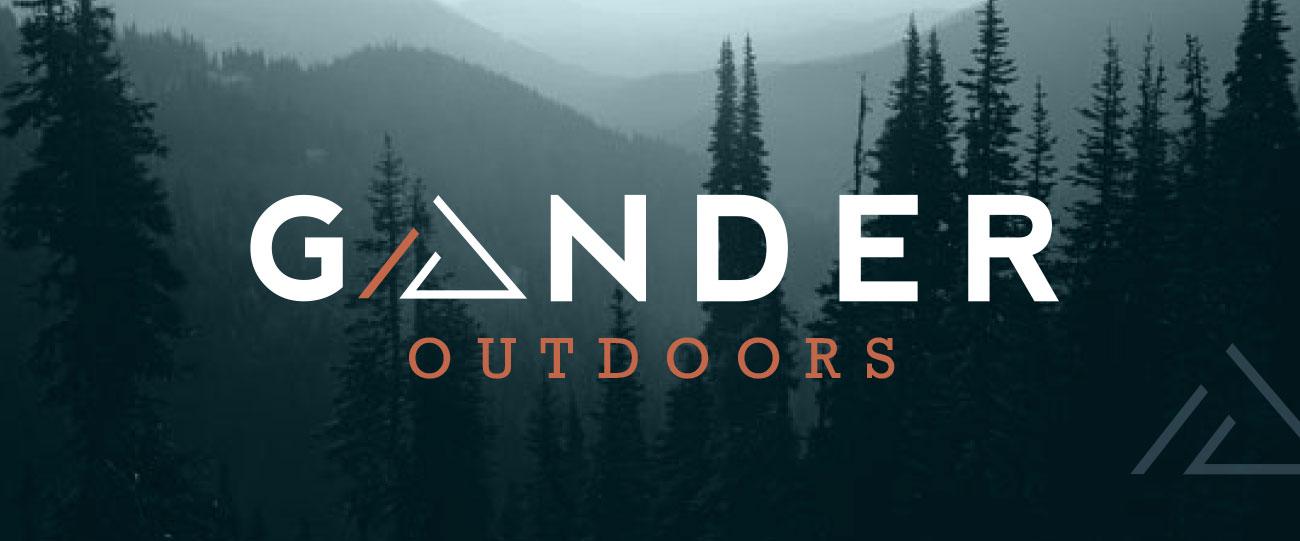 Gander Outdoors Logo Concept   Nicole Victory Design