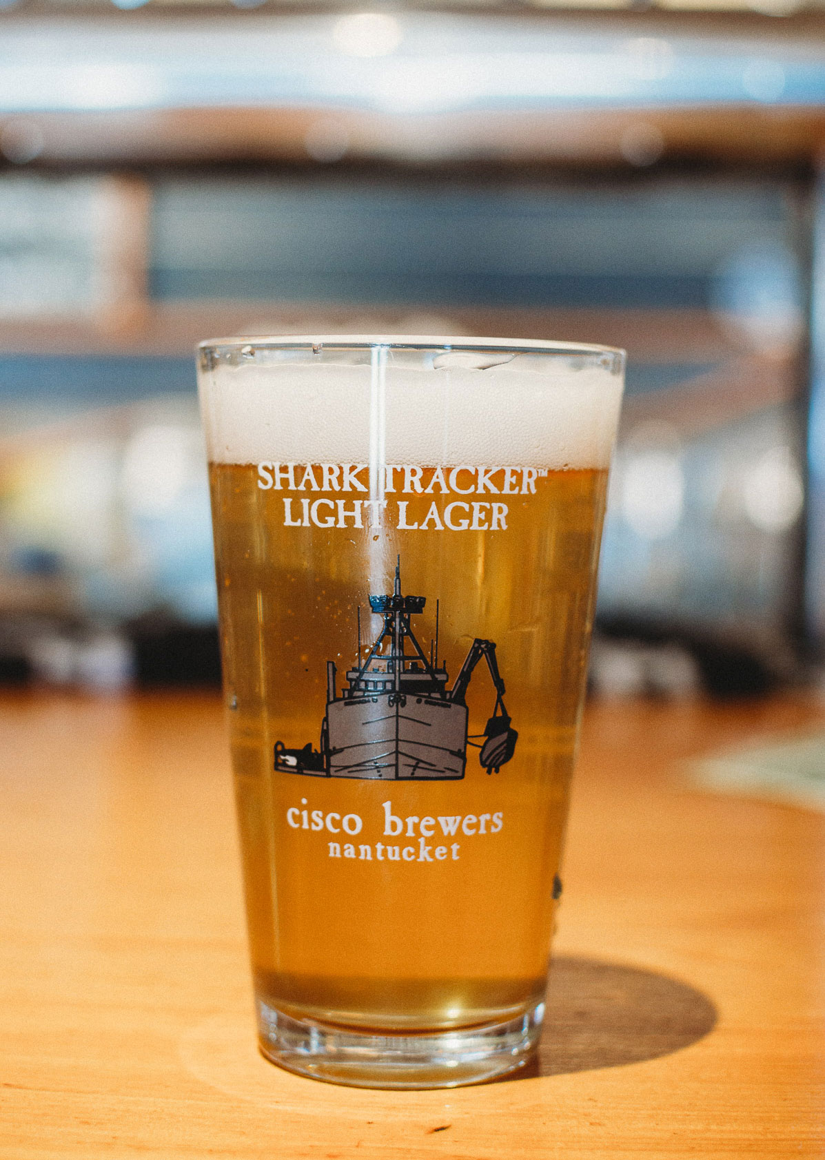 Cisco Brewers Shark Tracker Lager | Nicole Victory Design