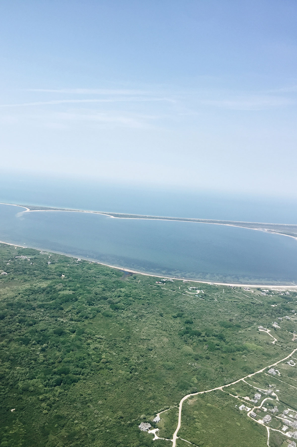Nantucket from the Air | Nicole Victory Design